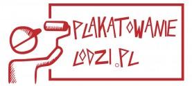 Plakatowanie w Łodzi