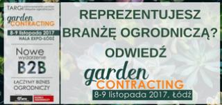 Wstęp na gardenCONTRACTING bezpłatny dla branży ogrodniczej