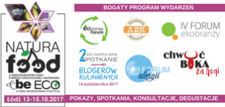 Program NATURA FOOD i beECO 2017
