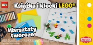 Książka i klocki LEGO – kreatywna historia
