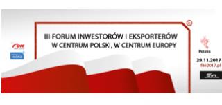 III Forum Inwestorów i Eksporterów podczas targów Intralomag