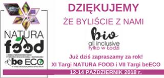 Podsumowanie NATURA FOOD i beECO 2017