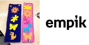 """Zapraszamy na warsztaty dla dzieci pt. """"Zakładki na różne sposoby"""" organizowane przez Empik"""