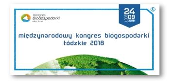 Międzynarodowy Kongres Biogospodarki Łódzkie 2018